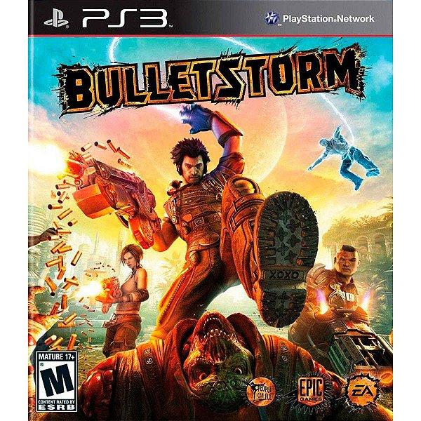 BULLETSTORM PS3 USADO