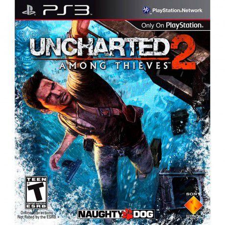 UNCHARTED 2 AMONG THIEVES PS3 USADO