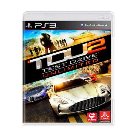 TEST DRIVE UNLIMITED 2 PS3 USADO