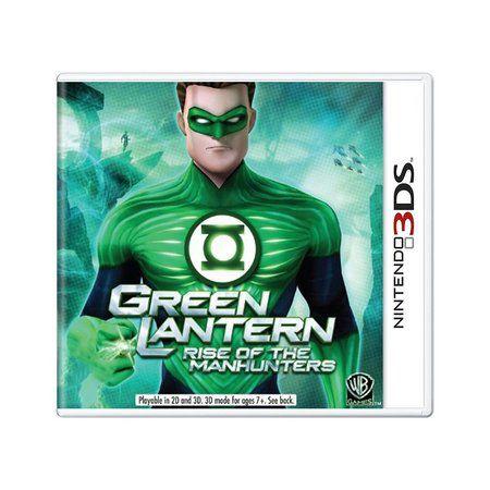 GREEN LANTERN 3DS USADO