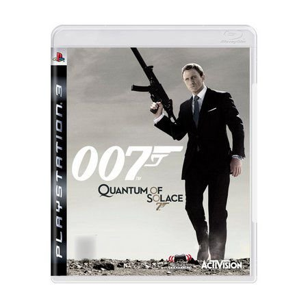 007 QUANTUM OF SOLACE PS3 USADO