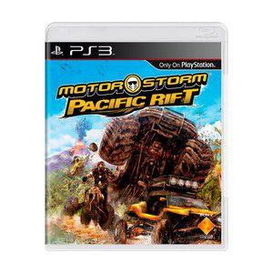 MOTORSTORM PACIFIC RIFT PS3 USADO