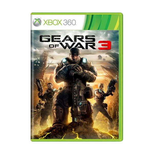 GEARS OF WAR 3 XBOX 360 USADO
