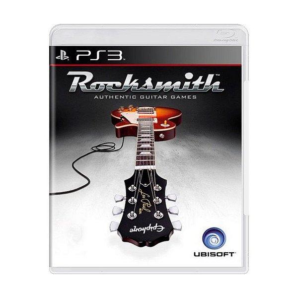 ROCKSMITH PS3 USADO (SÓ O JOGO)