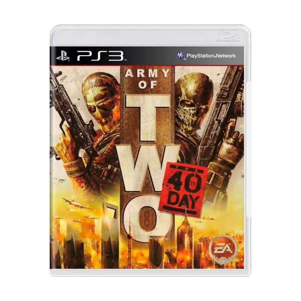 ARMY OF TWO 40TH DAY PS3 USADO