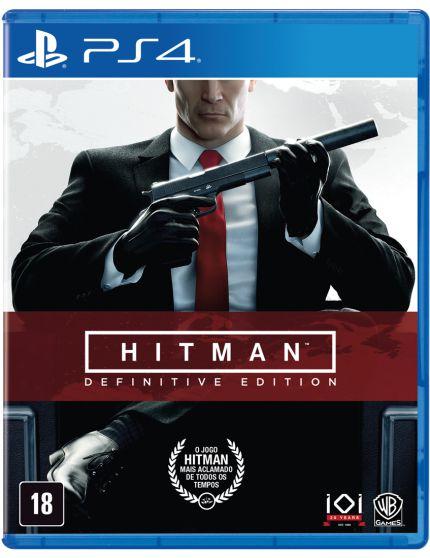 HITMAN DEFINITIVE EDITION PS4 USADO