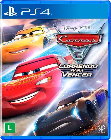 CARROS 3: CORRENDO PARA VENCER PS4 USADO