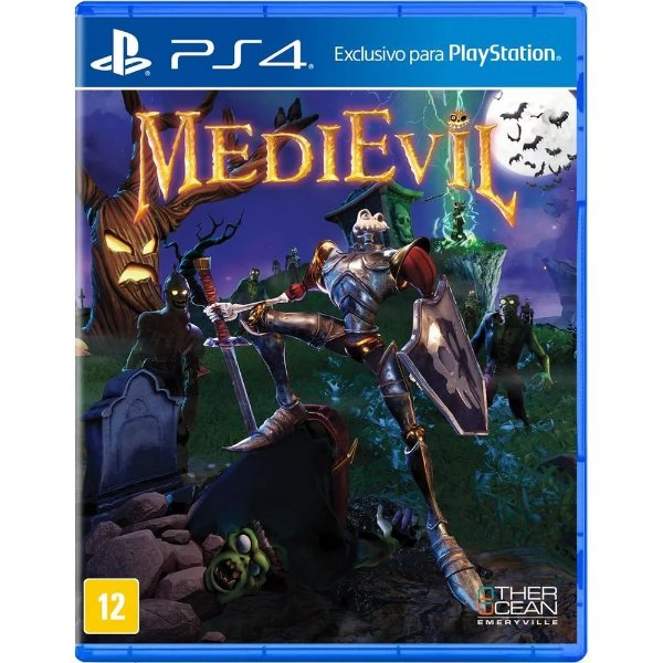 MEDIEVIL PS4 USADO
