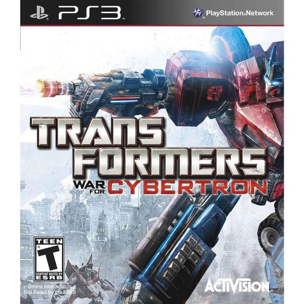 TRANSFORMERS WAR FOR CYBERTRON PS3 USADO