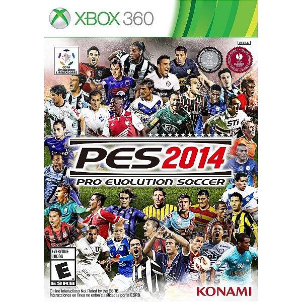 PES 2014 XBOX 360 USADO