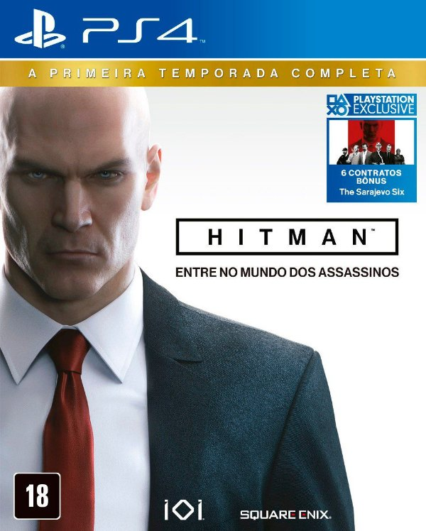 HITMAN THE COMPLETE FIRST SEASON PS4 USADO