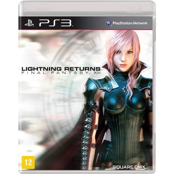 LIGHTNING RETURNS FINAL FANTASY XIII PS3 USADO