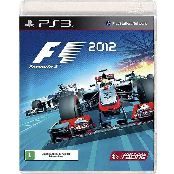 F1 2012 PS3 USADO