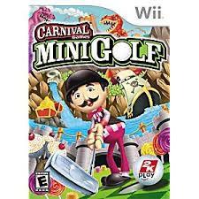CARNIVAL GAMES MINIGOLF WII USADO