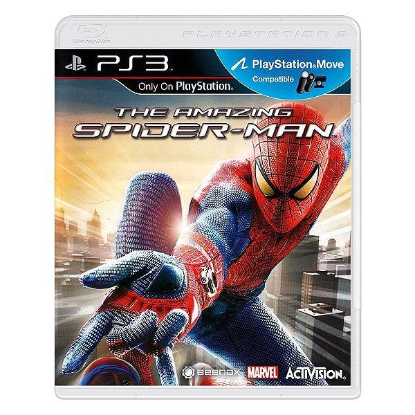 THE AMAZING SPIDER-MAN PS3 USADO