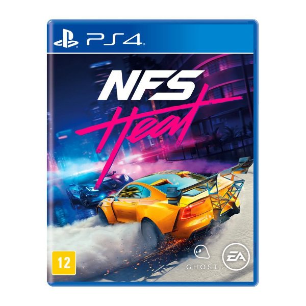 NEED FOR SPEED HEAT PS4 USADO