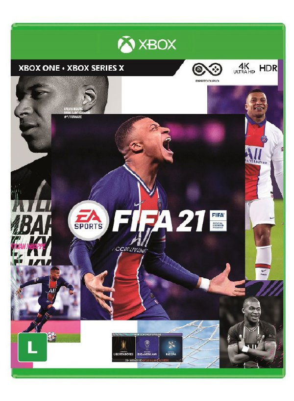 (PRÉ-VENDA) FIFA 21 XONE BR