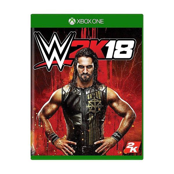 WWE 2K18 XONE USADO