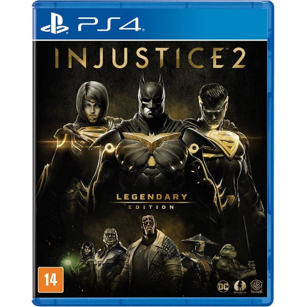 INJUSTICE 2 LEGENDARY EDITION PS4 BR