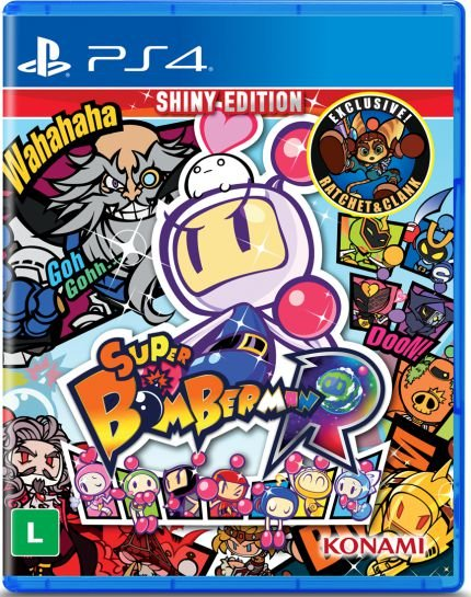 SUPER BOMBERMAN R PS4 USADO
