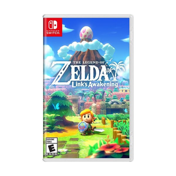THE LEGEND OF ZELDA LINKS AWAKENING SWITCH USADO