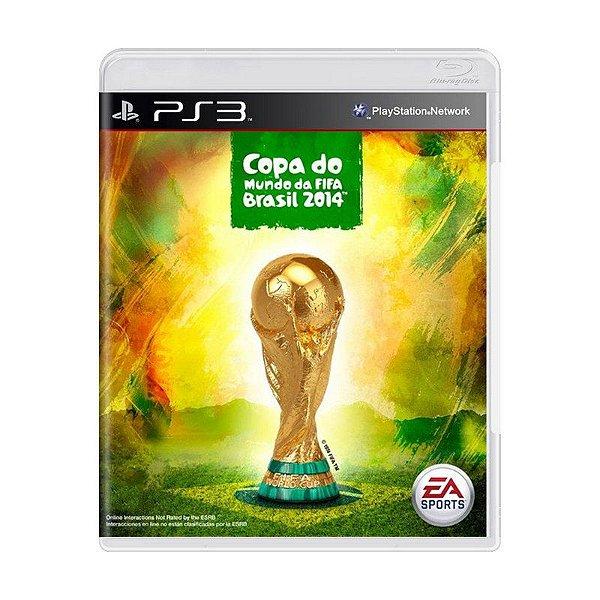 FIFA COPA DO MUNDO 2014 PS3 USADO