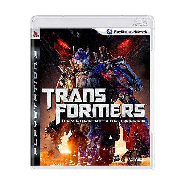 TRANSFORMERS REVENGE OF THE FALLEN PS3 USADO