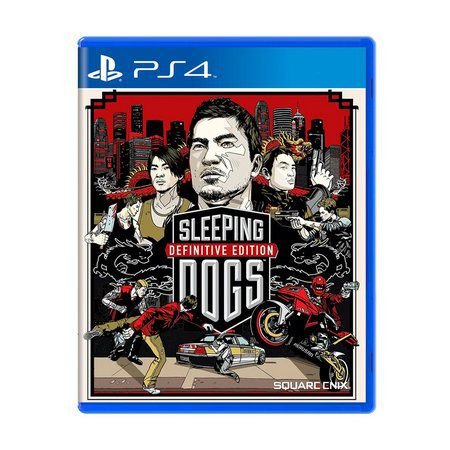 SLEEPING DOGS PS4 USADO