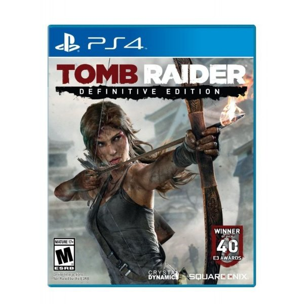 TOMB RAIDER PS4 DEFINITIVE EDITION USADO