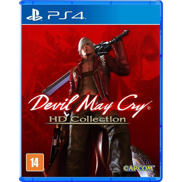 DEVIL MAY CRY HD COLLECTION PS4 USADO