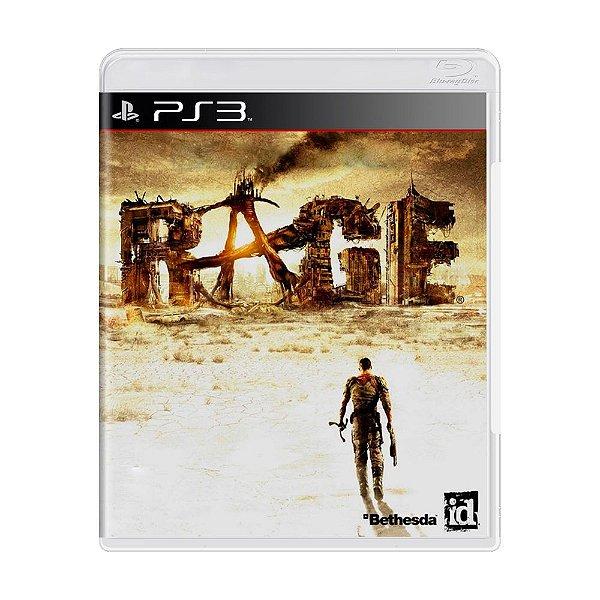 RAGE PS3 USADO