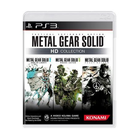 METAL GEAR HD COLLECTION PS3 USADO