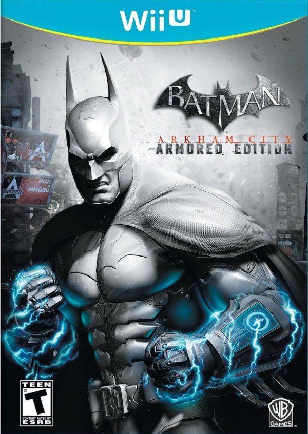 BATMAN ARKHAM CITY WII U USADO
