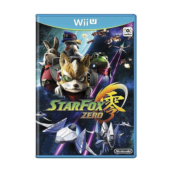 STAR FOX ZERO WII U USADO