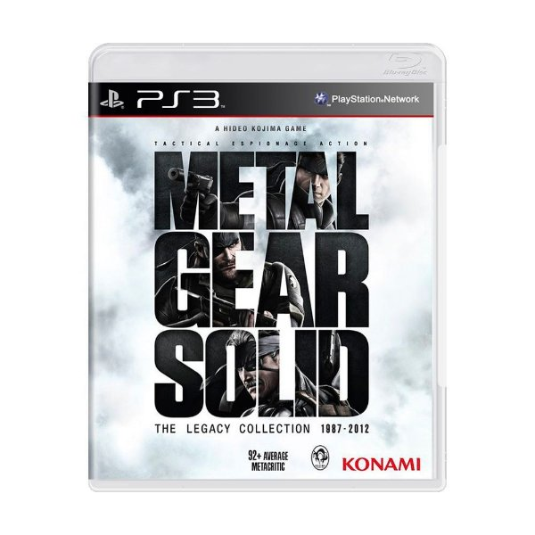 METAL GEAR SOLID THE LEGACY COLLECTION PS3 USADO