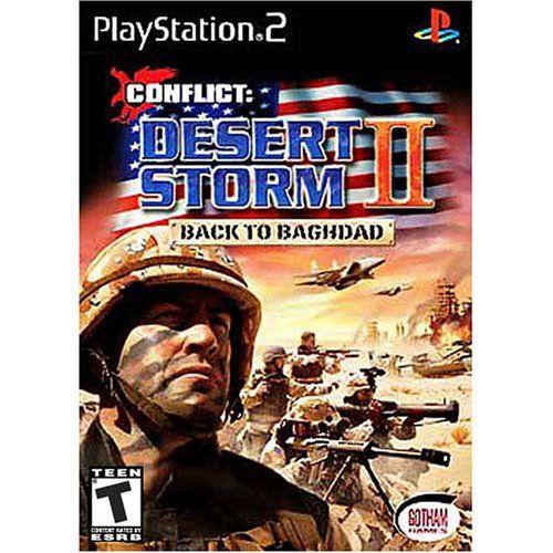 CONFLICT: DESERT STORM II BACK TO BAGHDAD PS2 USADO