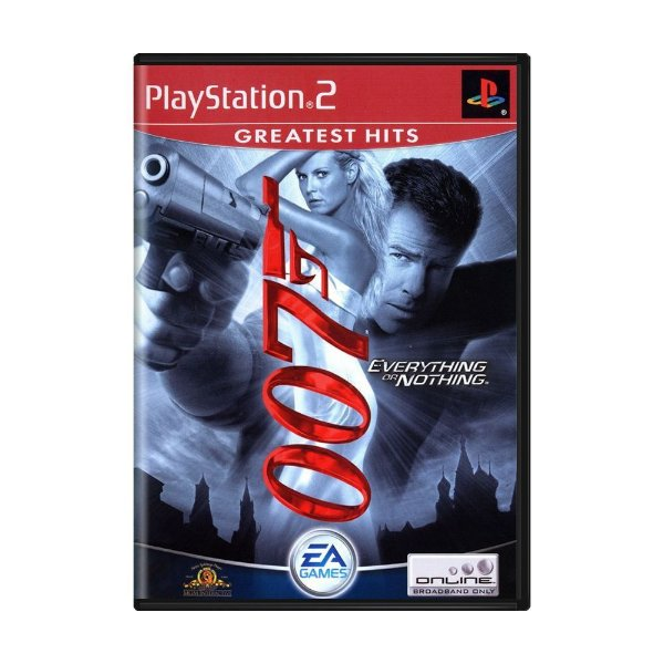 007 EVERYTHING OR NOTHING PS2 USADO