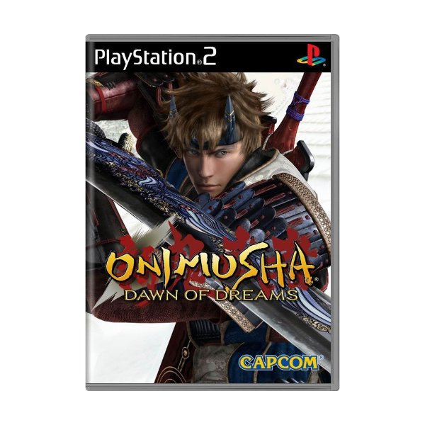 ONIMUSHA DAWN OF DREAMS PS2 USADO