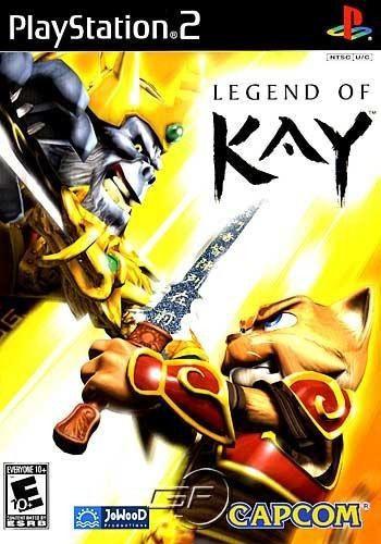 LEGEND OF KAY PS2 USADO