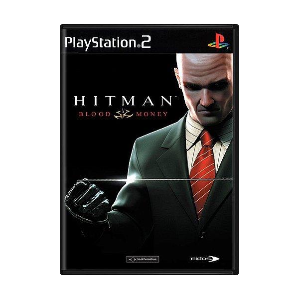 HITMAN BLOOD MONEY PS2 USADO