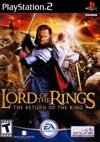 THE LORD OF THE RINGS RETURN OF THE KING PS2 USADO