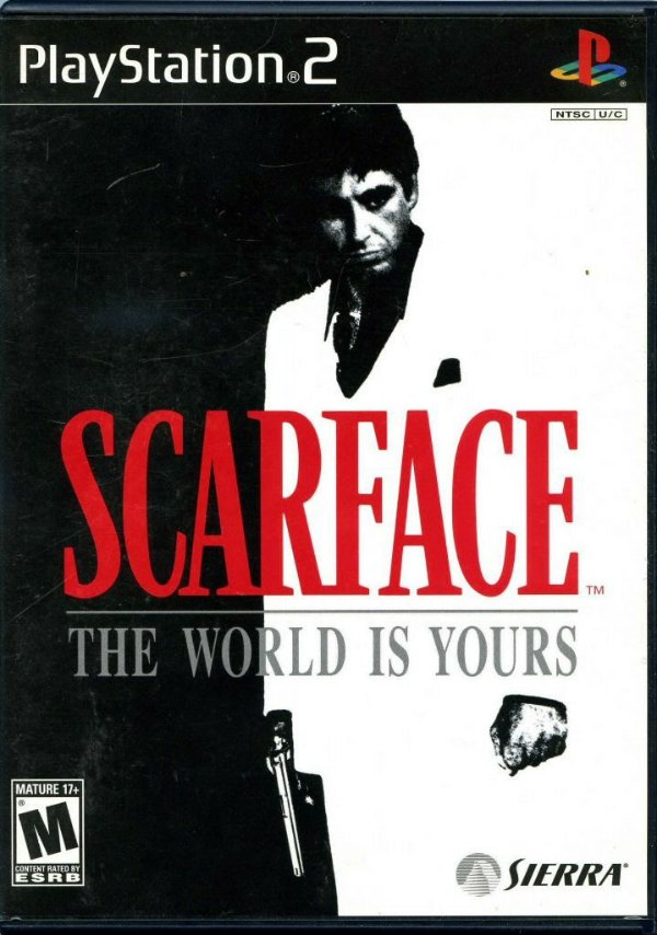 SCARFACE PS2 USADO