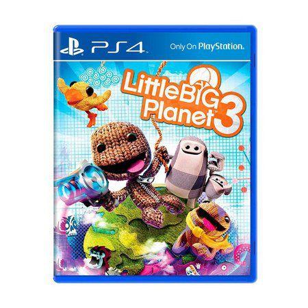 LITTLE BIG PLANET 3 PS4 (AMERICANO EM INGLÊS) USADO