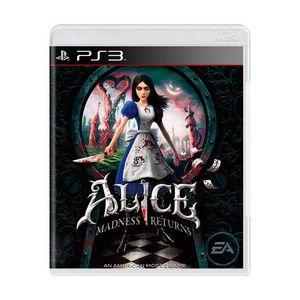 ALICE MADNESS RETURNS PS3 USADO