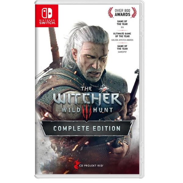 THE WITCHER 3 COMPLETE EDITION SWITCH USADO