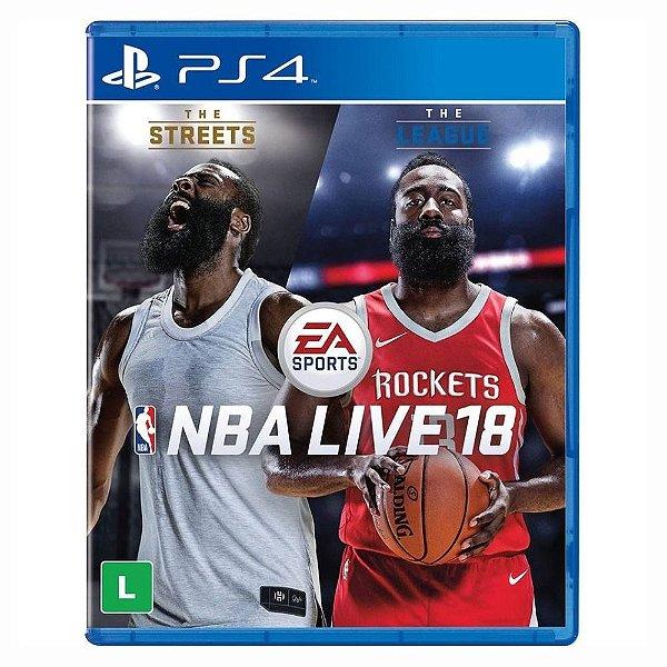 NBA LIVE 18 PS4 USADO