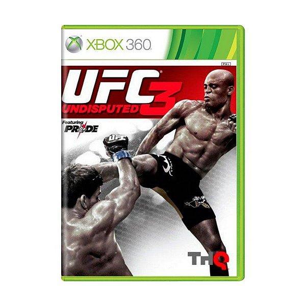 UFC UNDISPUTED 3 XBOX 360 USADO