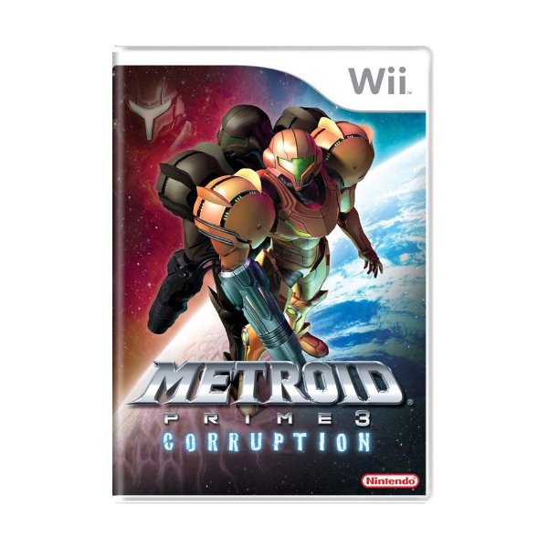 METROID PRIME CORRUPTION WII USADO