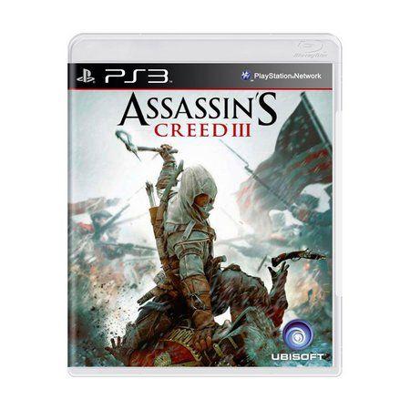 ASSASSINS CREED 3 PS3 USADO