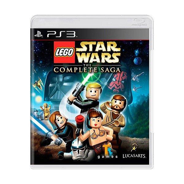 LEGO STAR WARS THE COMPLETE SAGA PS3 USADO